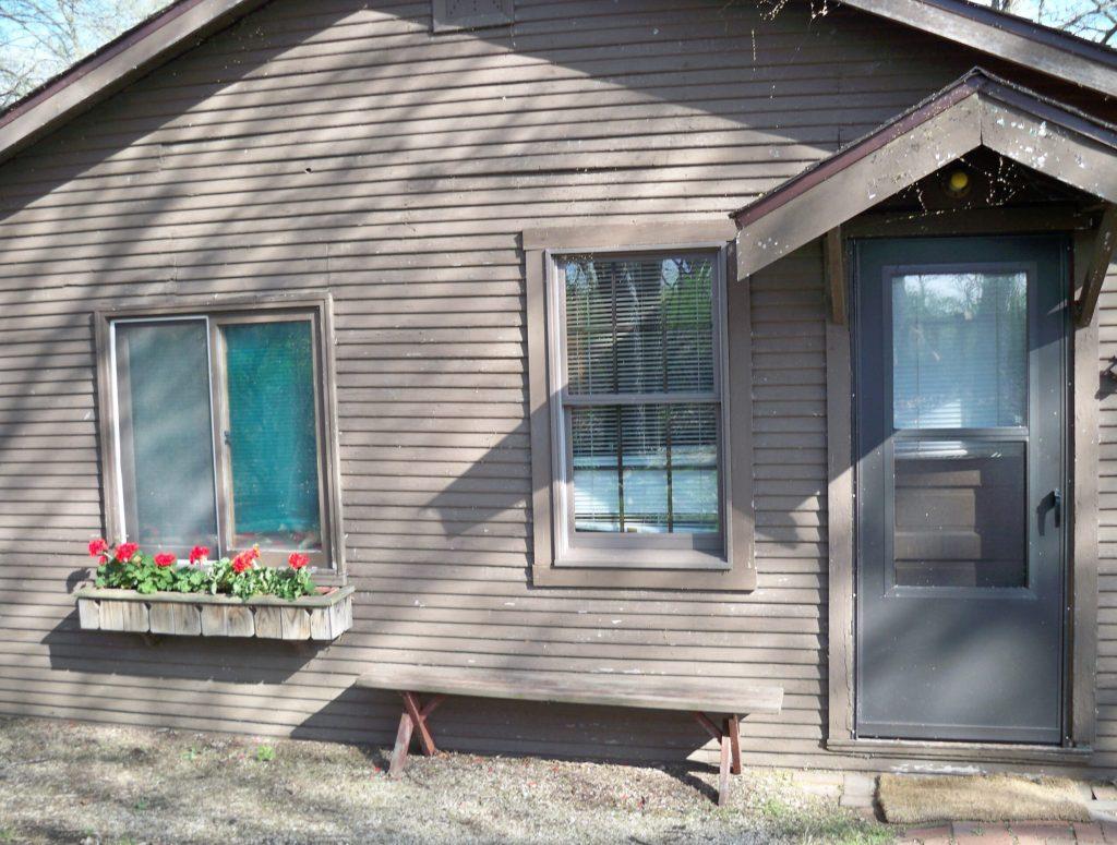 Cabin, Front Entrance