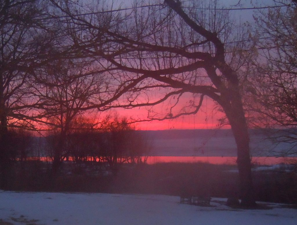 Sunrise at Cabin